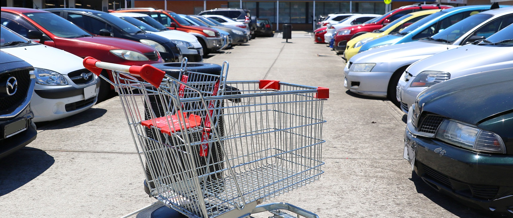 Don't dump your trolley. Image: Getty