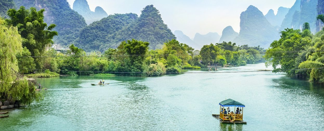 Go boating on the Li River.