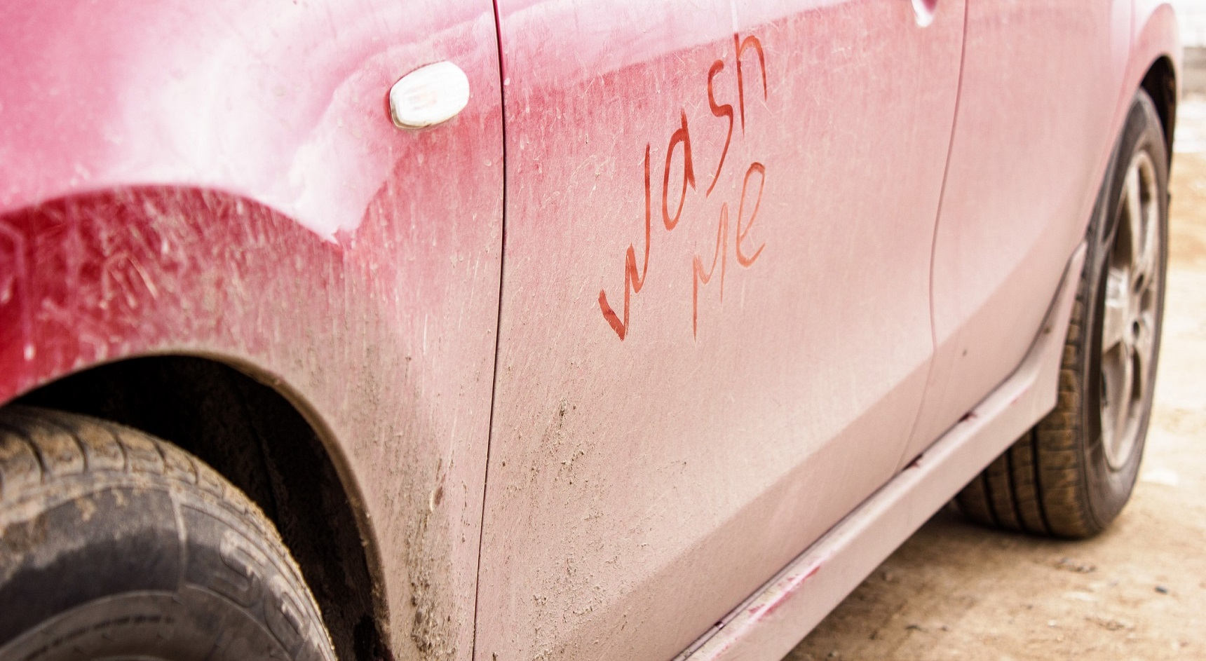 A dirty car can mean an obscured number plate.