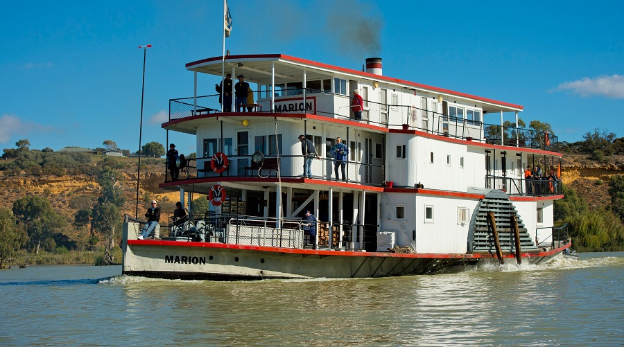 Hop aboard the PS Marion at the Morgan Living River Festival.