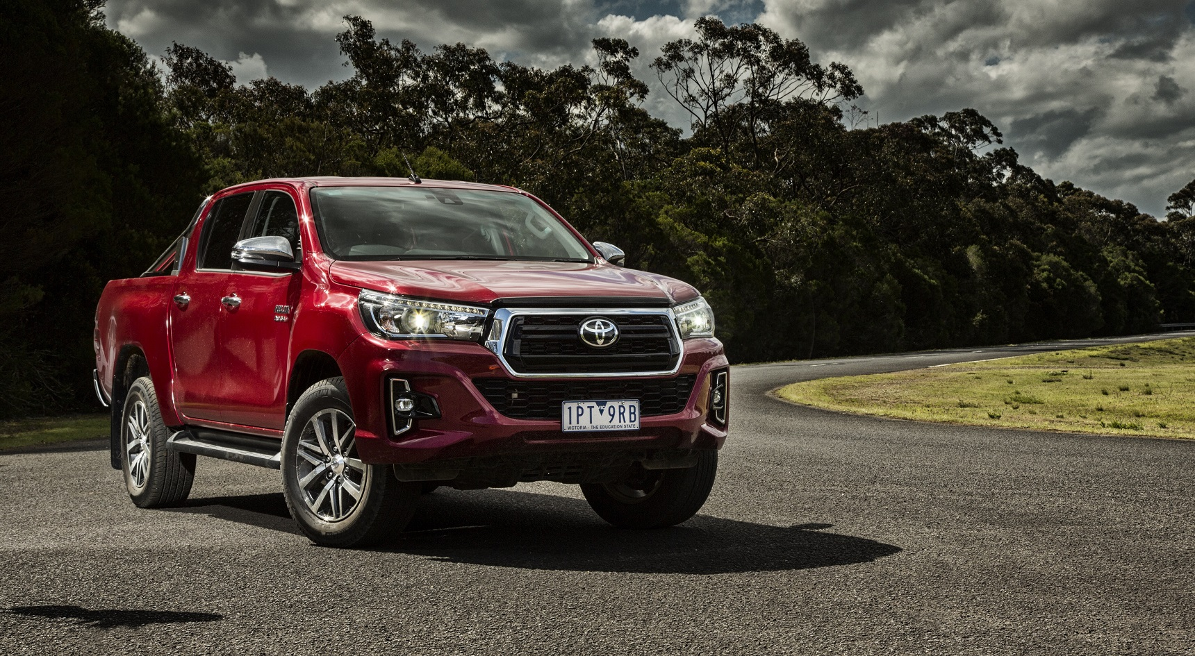 The HiLux trumps its rivals for safety, carrying a five-star ANCAP crash rating.