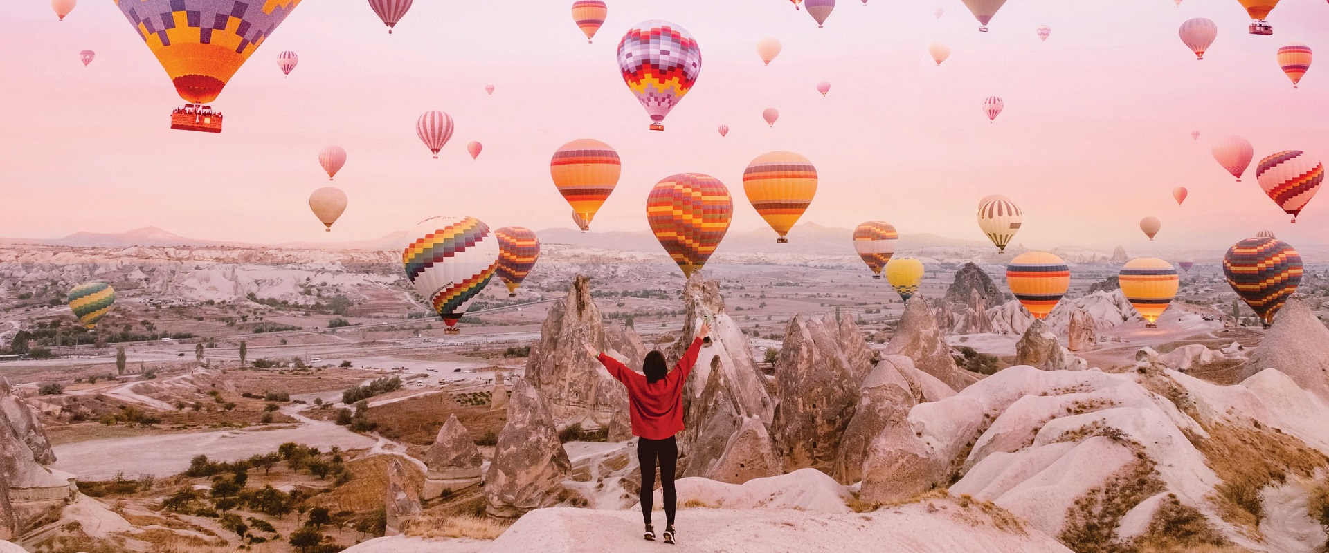 Cappadocia, Turkey. Image: Getty
