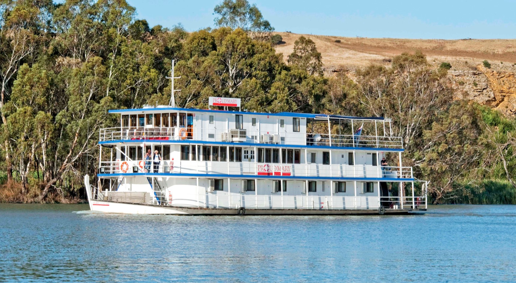 Take a Proud Mary cruise along the Murray River. Image: Eli Francis/SATC