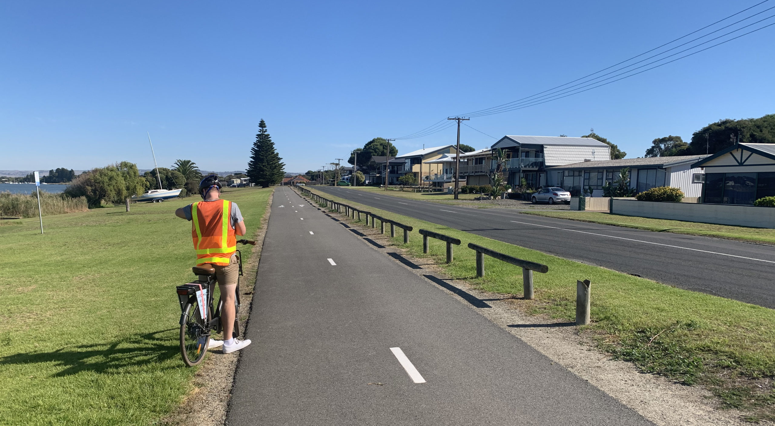 Encounter Bikeway section separated from the road. Image: RAA